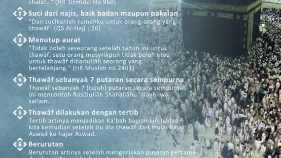 KAJIAN ISLAM INTENSIF TENTANG MANASIK HAJI DAN UMRAH #20: BAGIAN 20 DARI 30