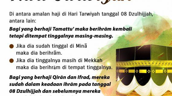 KAJIAN ISLAM INTENSIF TENTANG MANASIK HAJI DAN UMRAH #22: BAGIAN 22 DARI 30