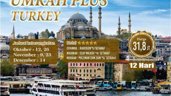 Paket Umroh Plus Turki 2018 Murah Di Tangerang